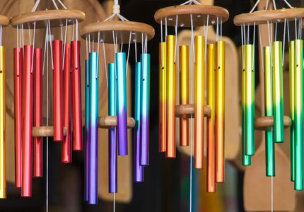 Make Fused Glass Wind Chimes