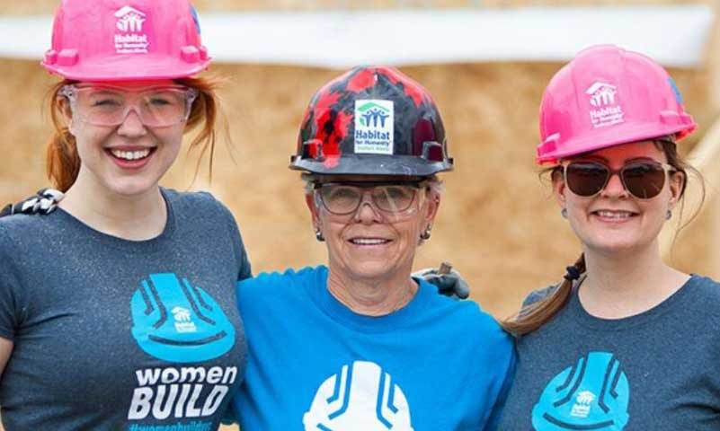 women build