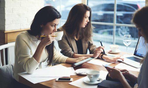 working business women