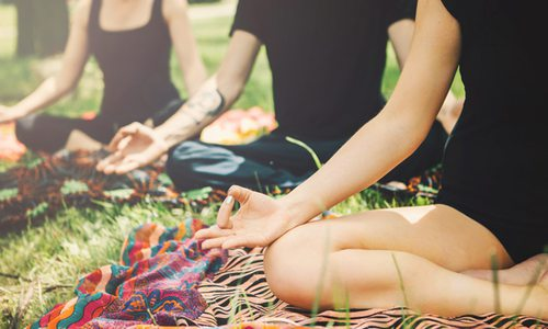 Yoga in the Park Sundays