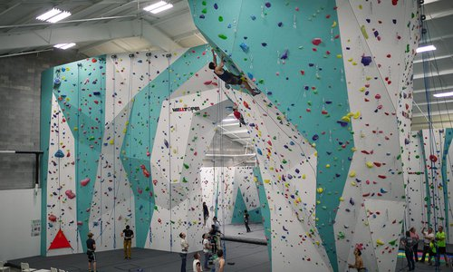 College Night at Zenith Climbing Center