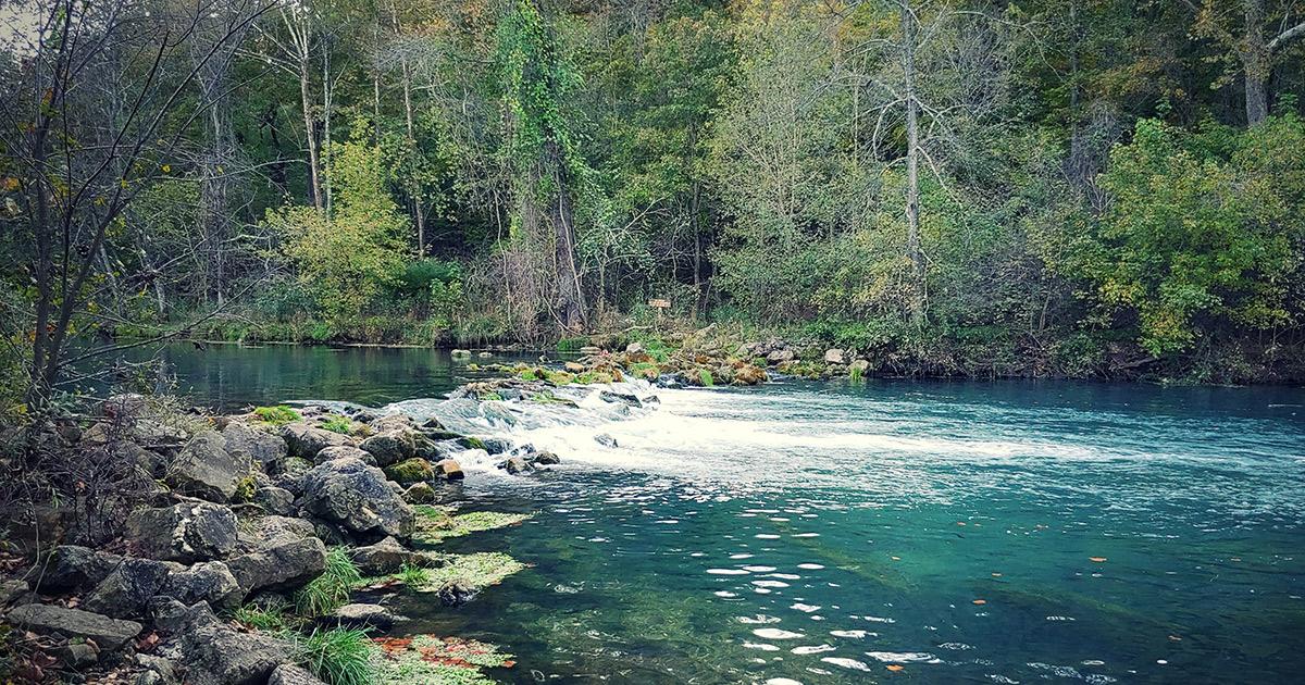 Float Missouri S Niangua River